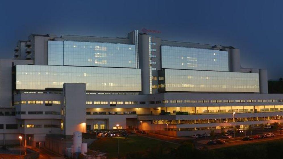 Foto: El Hospital Clínico Universitario de Santiago. (Sergas)