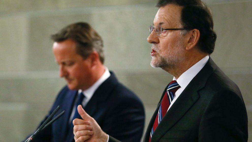 Rajoy critica la visita de Cameron: La campaña debe hacerse allí, no aquí