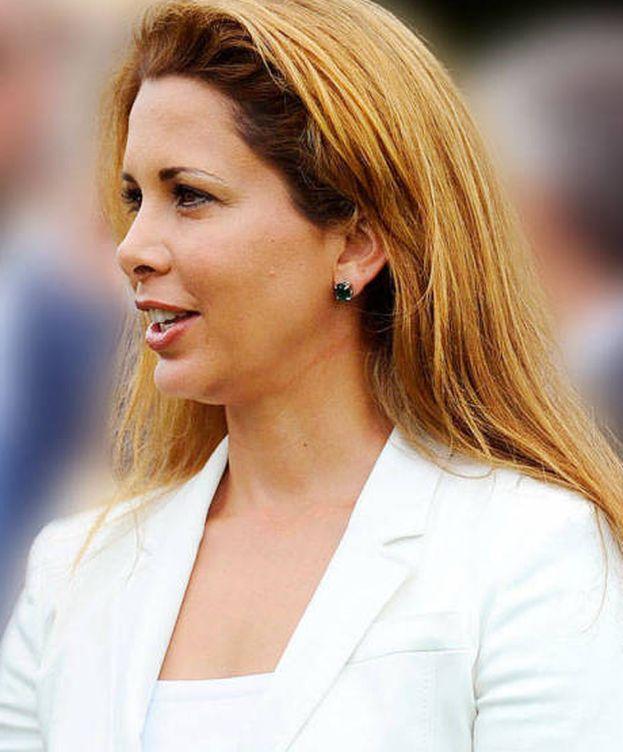 Foto: Haya de Jordania, en una imagen de archivo. (Getty)