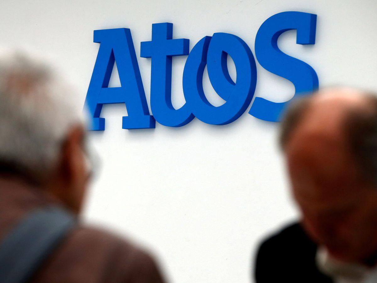 Foto: El logo de Atos (Reuters)