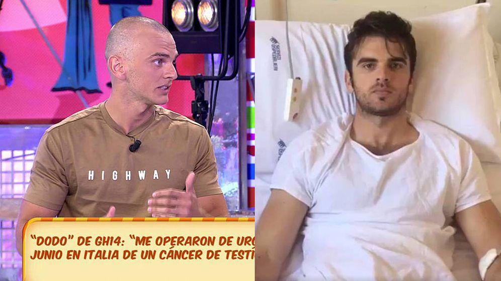 Foto: Dodo ha perdido el pelo debido a la quimioterapia. (Mediaset España)