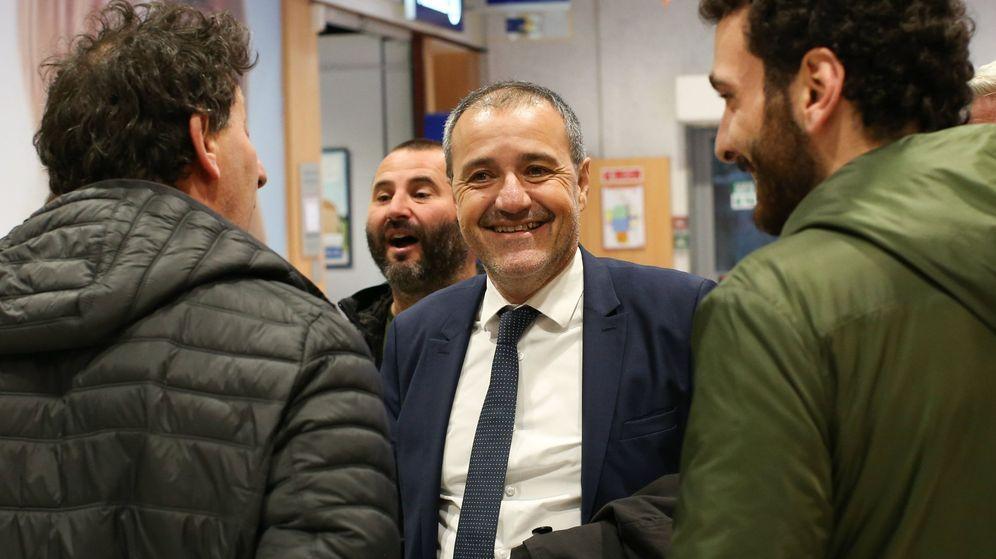 Foto: El líder nacionalista Jean-Guy Talamoni. (EFE)