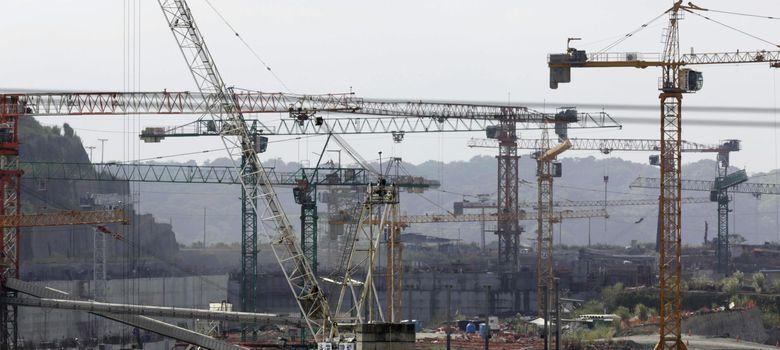 Foto: Imagen de la construcción de la ampliación del Canal de Panamá (Reuters)
