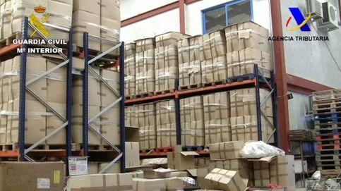 Caen 19 fábricas ilegales en tres años: el contrabando hace un roto a los estanqueros