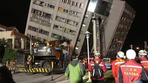 Las imágenes de los destrozos ocasionados por el terremoto en Taiwán