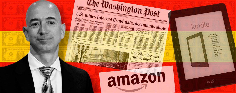 Foto: Jeff Bezos, fundador de Amazon y propietario de 'The Washington Post'