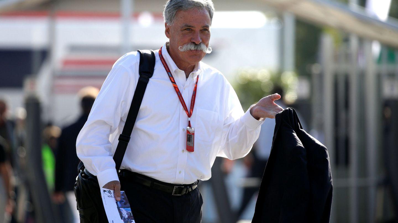 Chase Carey, presidente de la F1 desde el desembarco de Liberty Media. (Reuters)