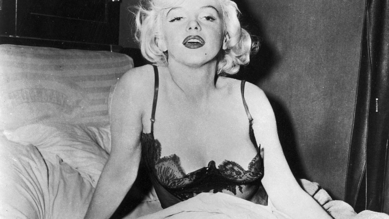 Marilyn Monroe durante el rodaje 'Con faldas y a lo loco'. (Cordon Press)