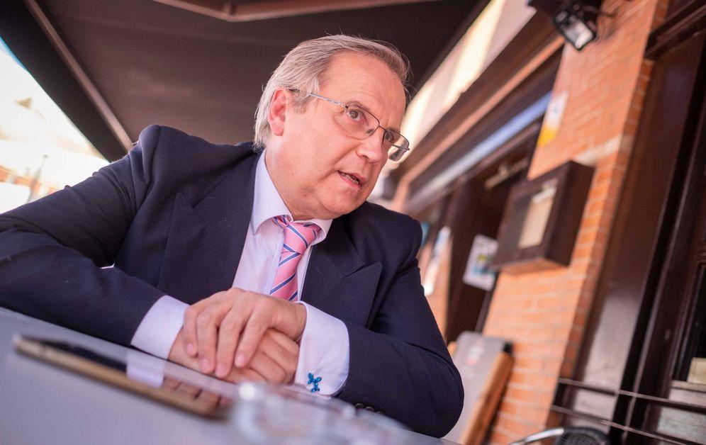 Foto: Antonio Miguel Carmona, durante la entrevista. (Roberto Gómez)