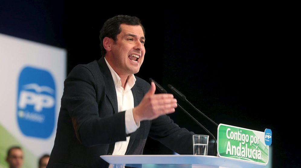 Foto: El presidente del Partido Popular de Andalucía, Juan Manuel Moreno. (Reuters)