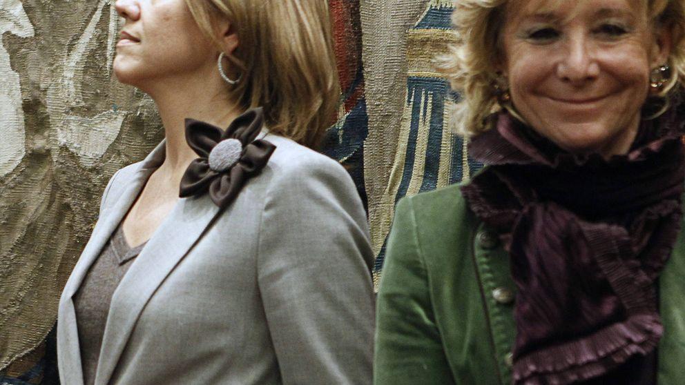 Cospedal 'culpa' a Aguirre de los registros  en la sede del PP de Madrid