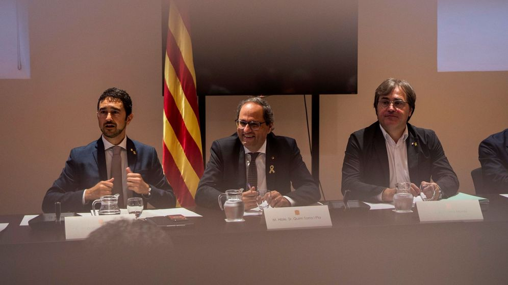 Foto: Reunión de la junta general del consorcio de la vivienda de Barcelona. (Agencias)