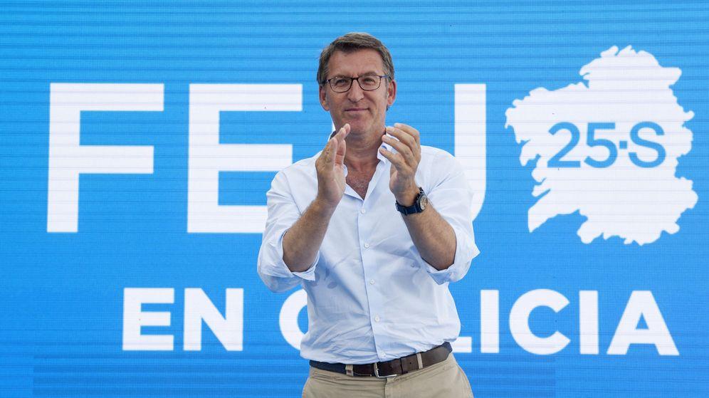 Foto: El presidente de la Xunta y candidato a ser reelegido el próximo 25 de septiembre, Alberto Núñez Feijóo. (Efe)