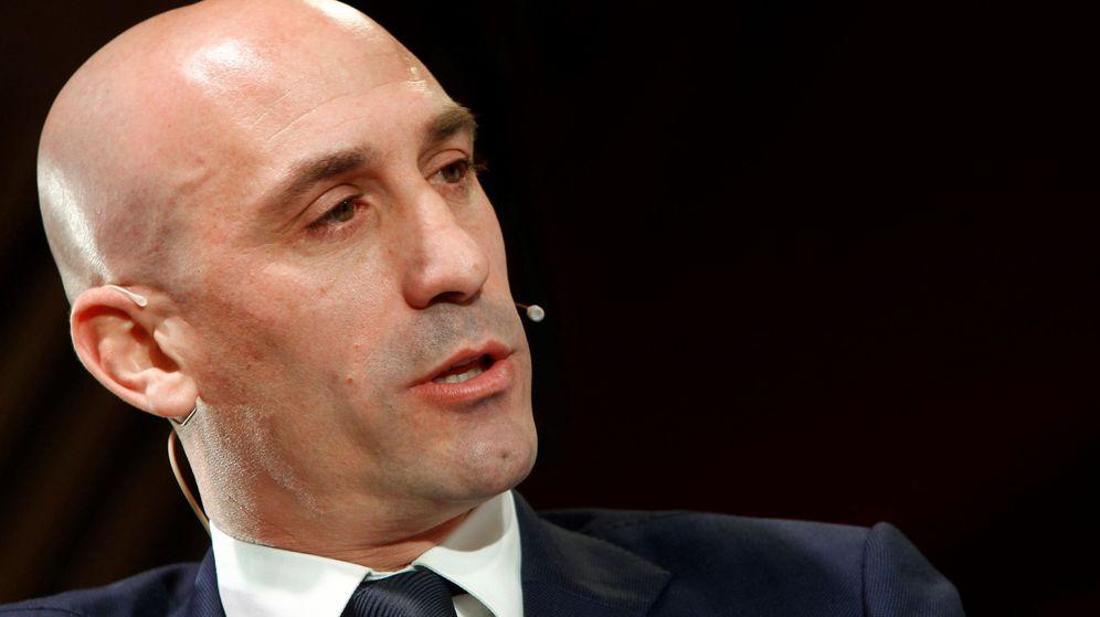 Foto: Luis Rubiales, candidato a presidir la RFEF. (EFE)