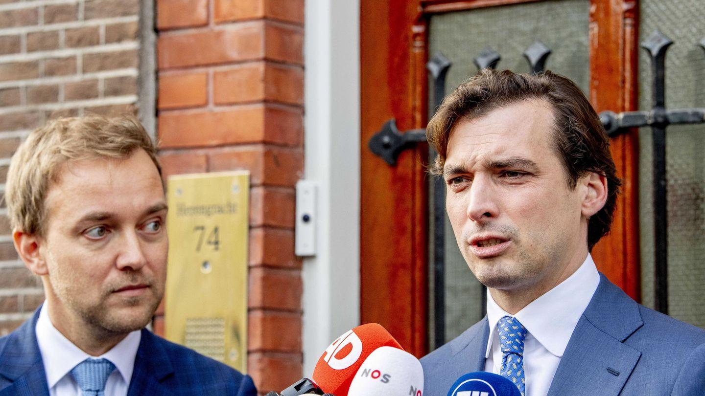 Thierry Baudet (derecha). (EFE)