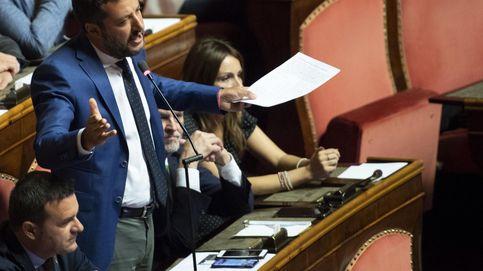 El Senado italiano frena a Salvini y pospone la moción de confianza contra Conte
