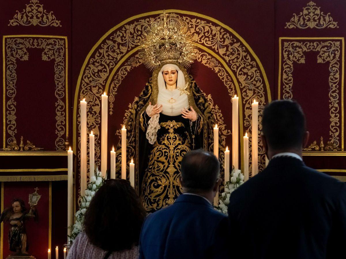 Foto: Semana Santa de Sevilla en 2021 (EFE)