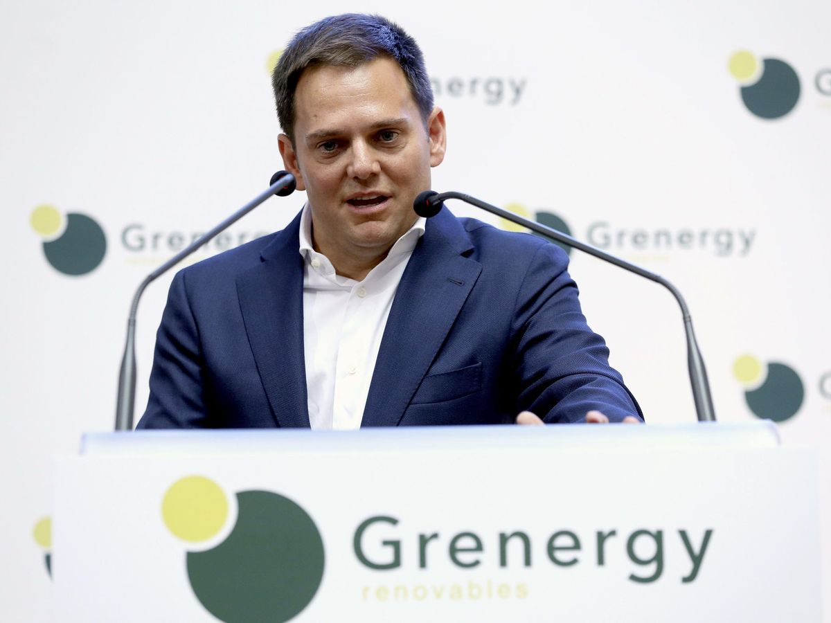 Foto: El consejero delegado de Grenergy Renovables, David Ruiz de Andrés. (EFE)