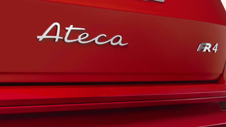 El nuevo Ateca emplea en su anagrama la caligrafía estrenada en el nuevo León.