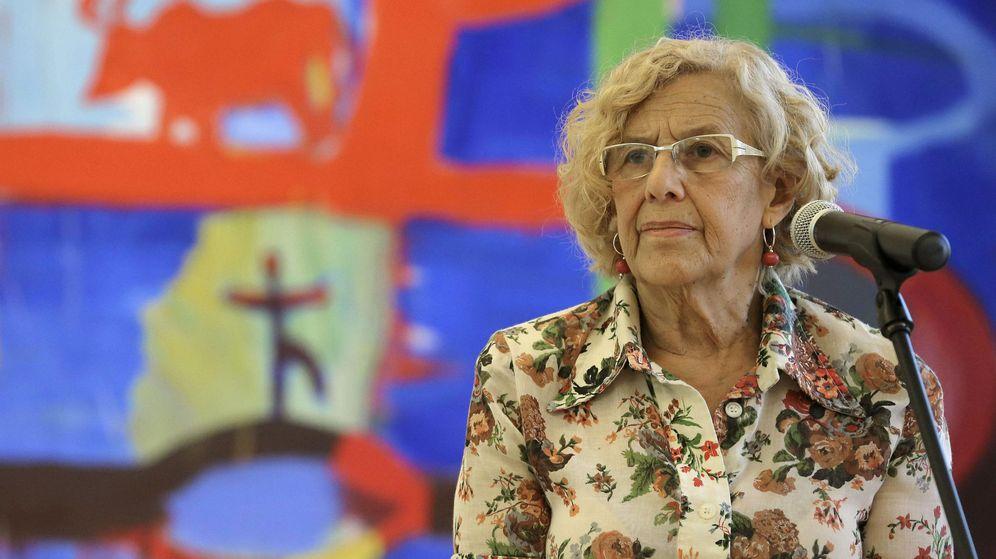 Foto: Carmena defiende la web del Ayuntamiento y dice abogar por la libertad de prensa (EFE)