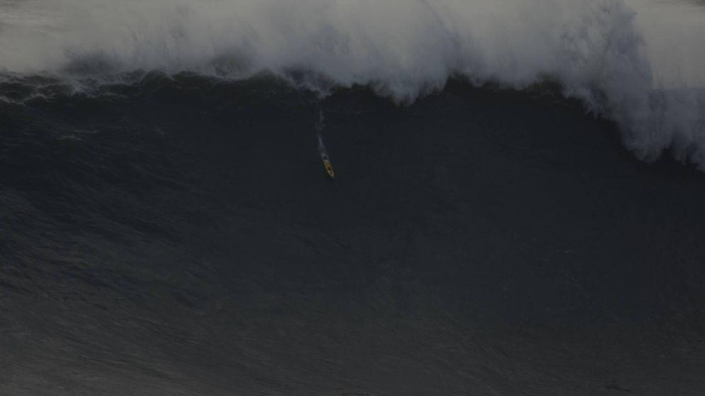 Foto: Nazaré, la ola surfeada más grande del mundo