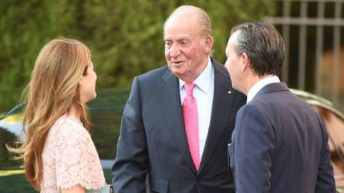 El rey Juan Carlos acude a la fiesta de la boda del año en Granada