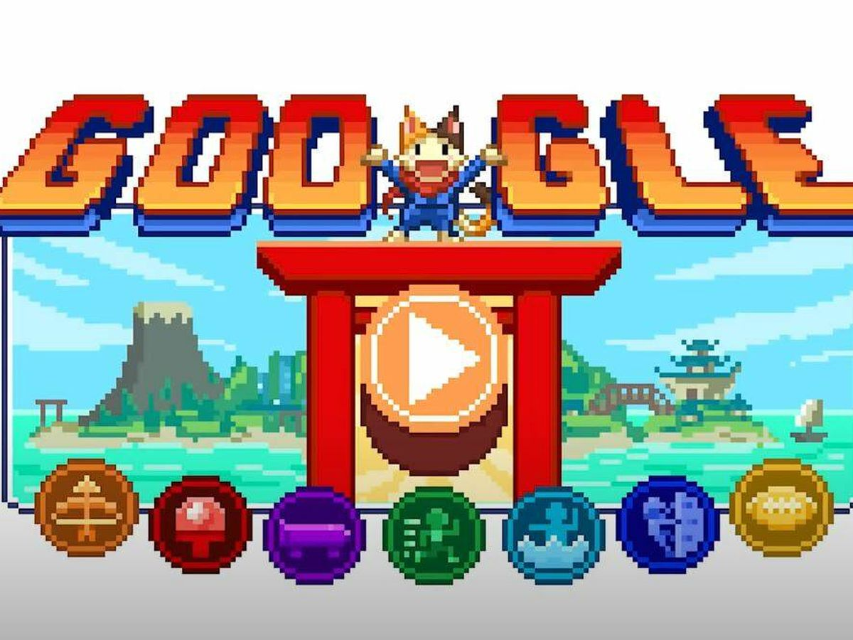 Foto: El 'doodle' interactivo de Google para los Juegos de Tokio 2020
