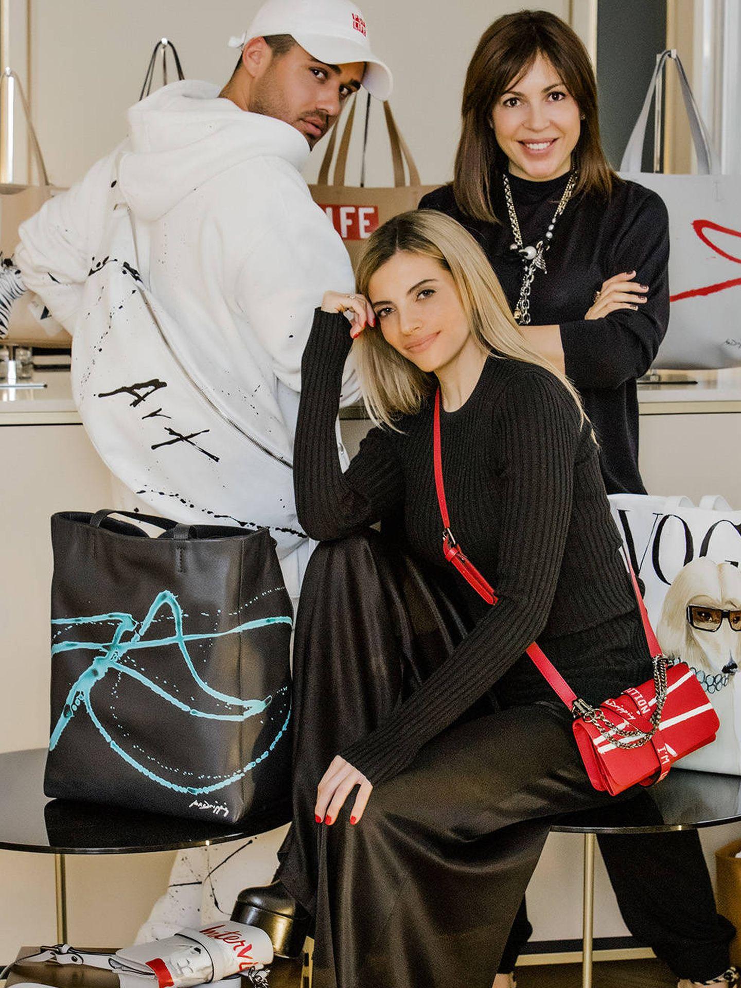 Mr. Dripping, Raquel Oliva y Anna Cortina.  (Cortesía)
