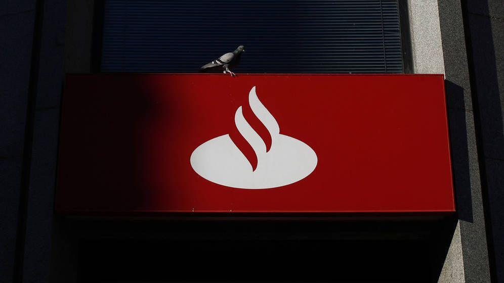 Foto: Logo del Banco Santander. (EFE)
