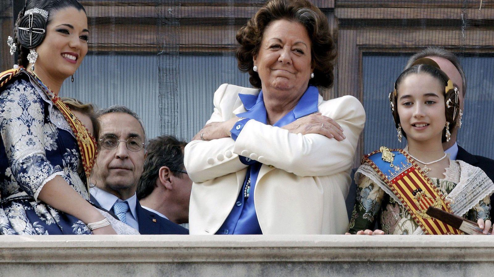 Foto: Fotografía de archivo de la senadora y exalcaldesa de Valencia Rita Barberá. (Efe)