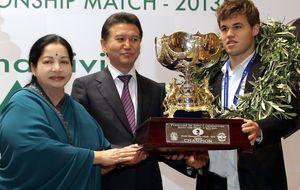 Carlsen, campeón del mundo de ajedrez, sólo piensa en dormir