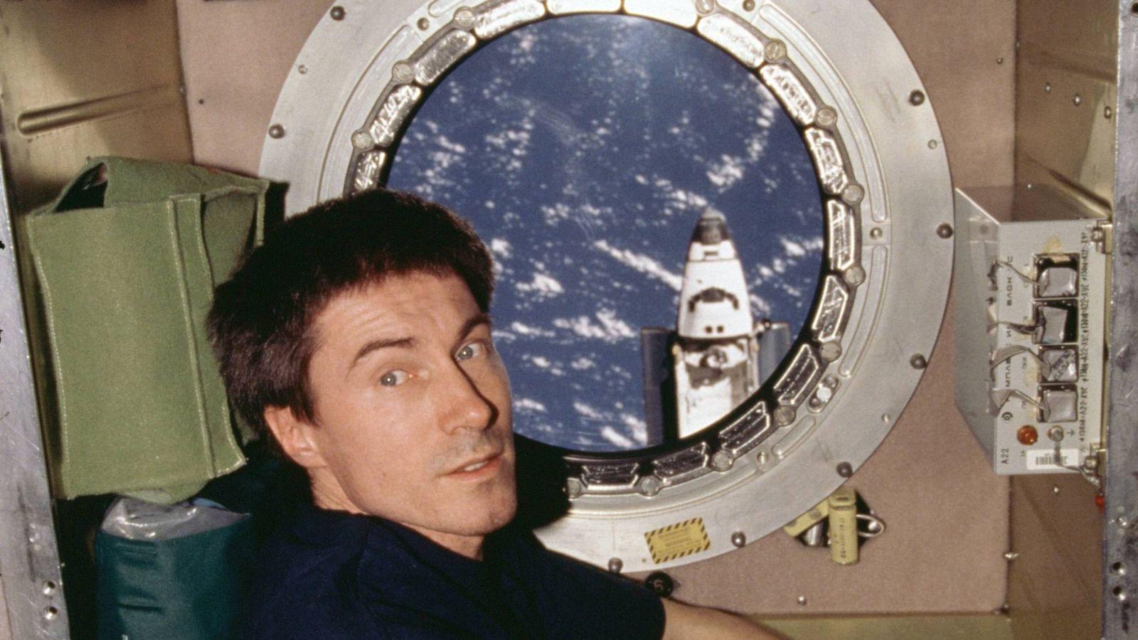 Foto: Una imagen de archivo del cosmonauta Sergei Krikalev.
