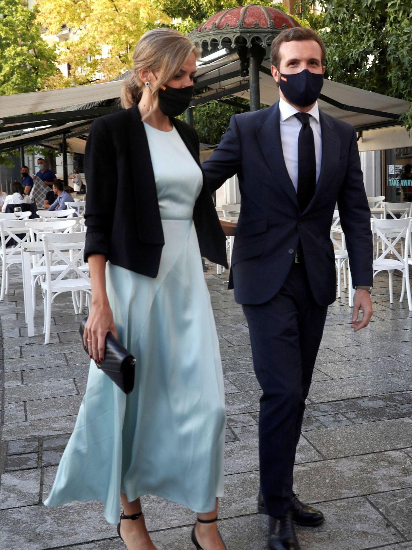 Pablo Casado e Isabel Torres. (EFE)