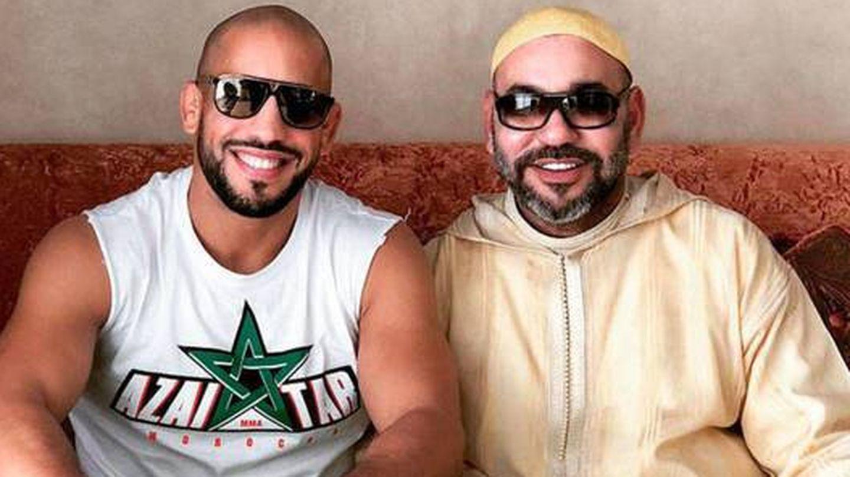 Abu Bakr y Mohamed VI, en 2018. (RRSS)