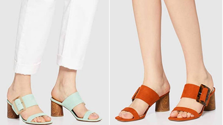 Nuevas sandalias de Amazon. (Cortesía)