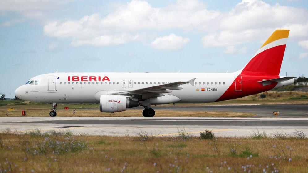 Foto: Avión de Iberia. (Reuters)