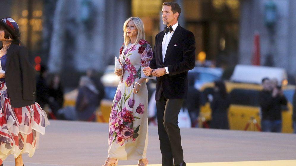 Foto: Pablo de Grecia y Marie-Chantal llegan al Lincoln Center a la fiesta de Dolce&Gabbana.