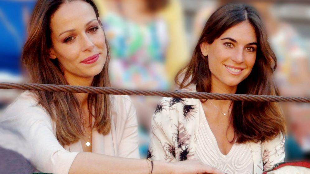 Foto: Eva González y Lourdes Montes, en una imagen de archivo. (Getty)