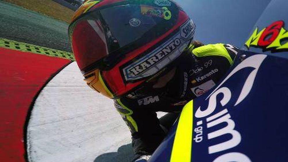 María Herrera, la única mujer en el campeonato del mundo de motociclismo