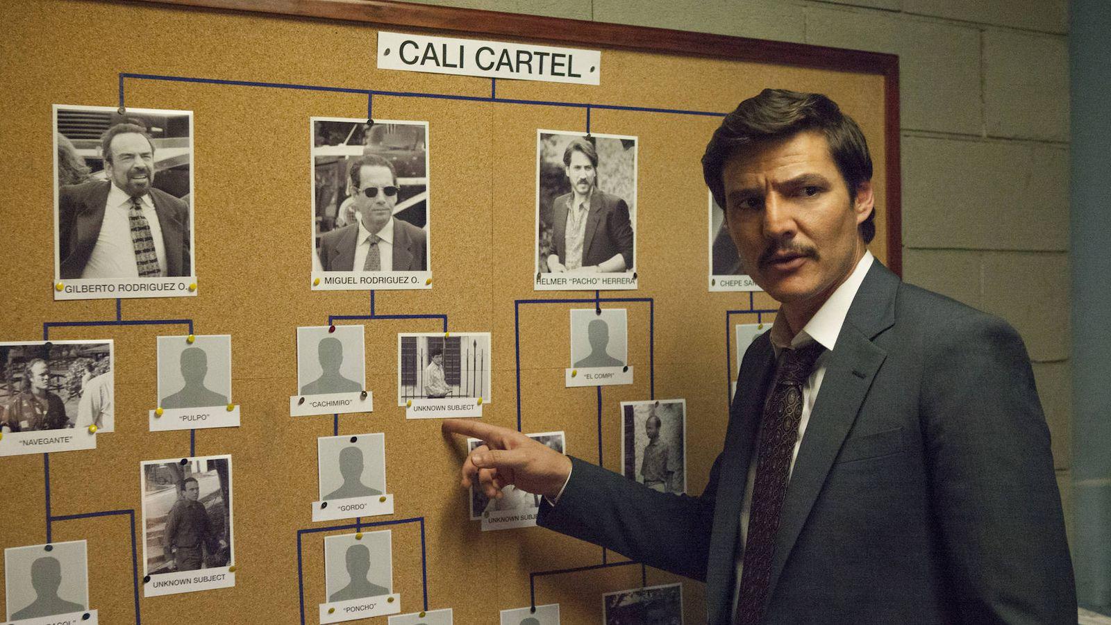 Foto: Pedro Pascal, protagonista de 'Narcos, en una imagen de la tercera temporada de la serie