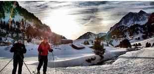 Post de Esquiar bajo la luz de la luna