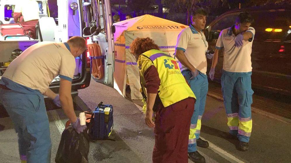 Foto: Matan a un joven a puñaladas en San Sebastián de los Reyes. (Foto: 112 Comunidad de Madrid)