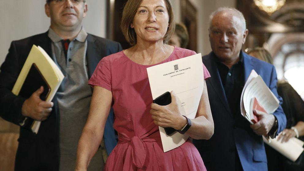 Forcadell maniobra para que el referéndum se apruebe por decreto y lo firme Junqueras