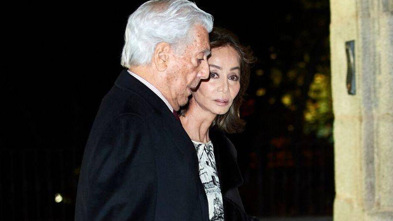 Isabel Preysler y Mario Vargas Llosa. (Getty)