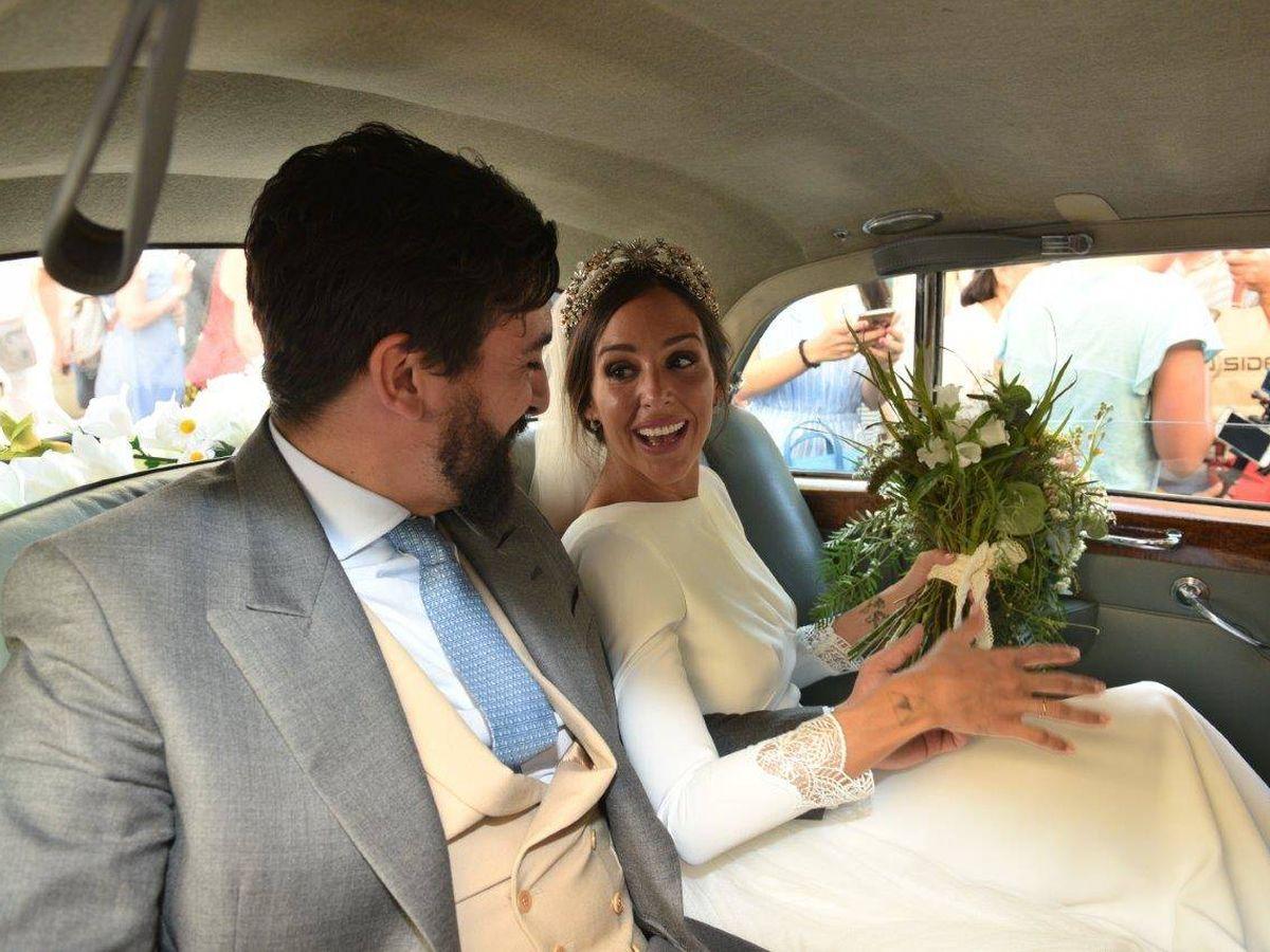 Foto: Rocío Osorno, en su boda. (Sevilla Press)