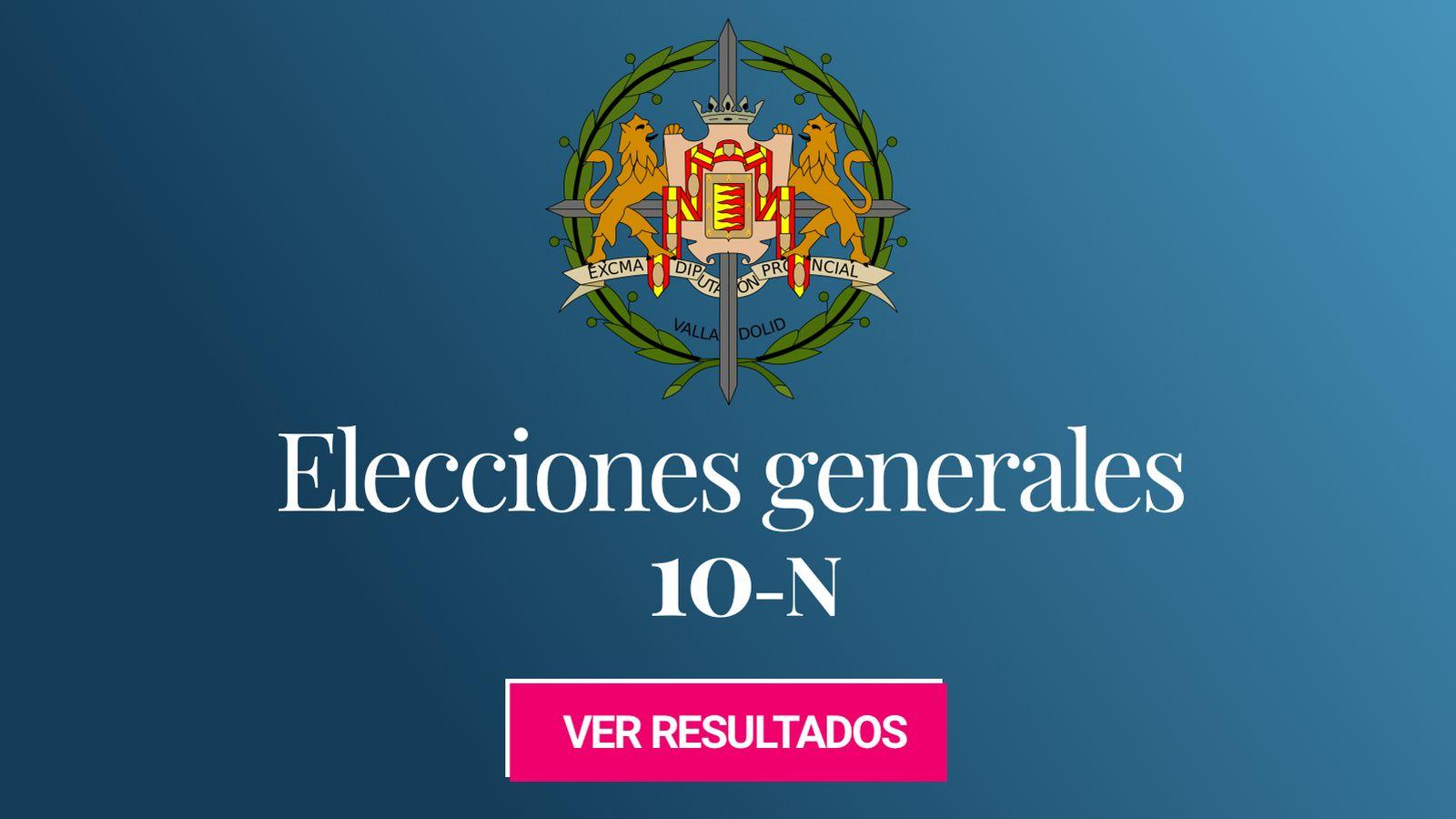 Foto: Elecciones generales 2019 en la provincia de Valladolid. (C.C./Chabacano)