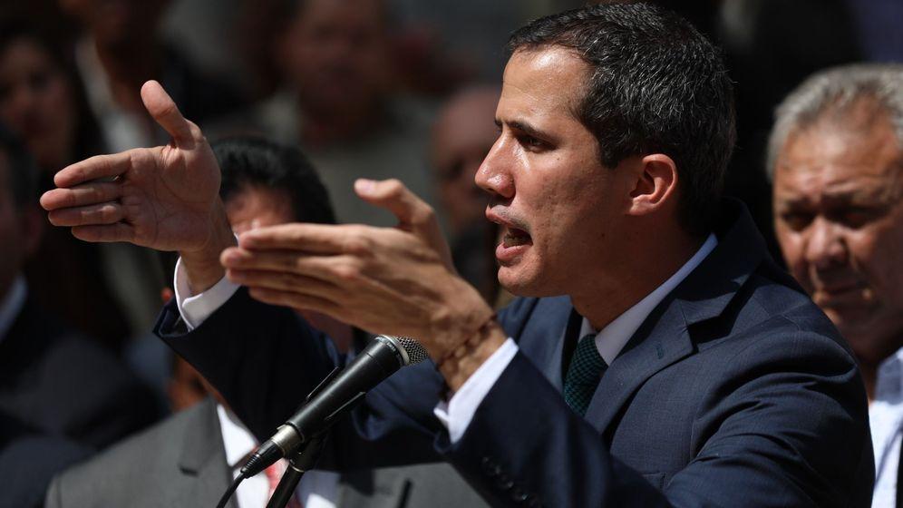 Foto: Juan Guaidó, reconocido hoy por parte de la UE como presidente interino de Venezuela (EFE)