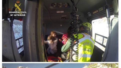 Rescatan en Gredos a 8 excursionistas, 5 menores, con ceguera de la nieve
