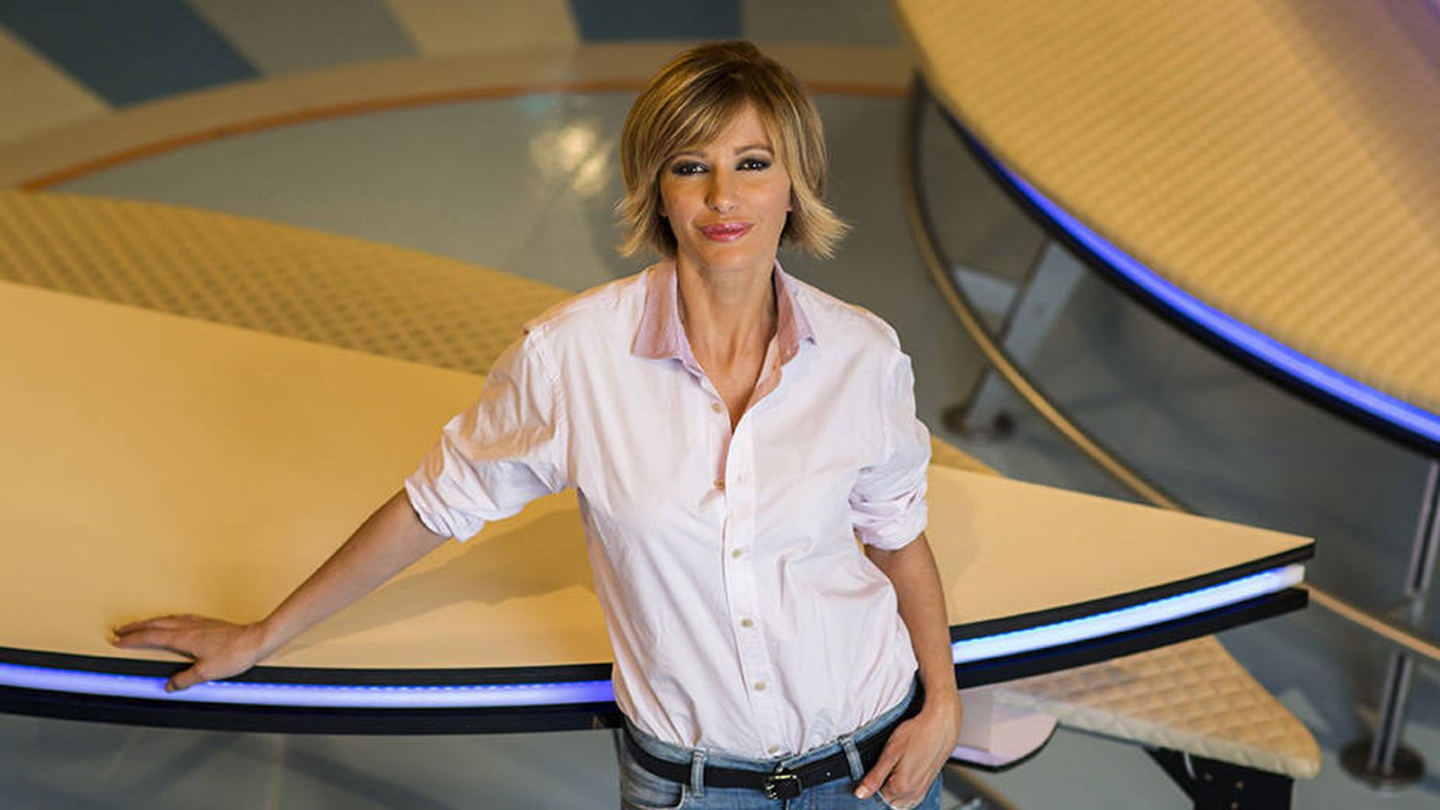 Foto: Susanna Griso, presentadora de 'Espejo público'. (Alberto Roldán/Atresmedia)