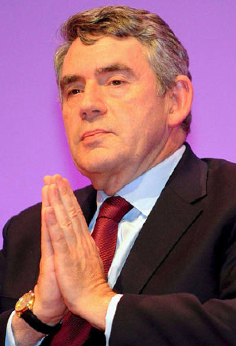 Foto: Gordon Brown, el inquilino de Downing Street que nunca debió dejar los números